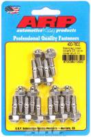 "Engine Bolts & Fasteners - Valve Cover Stud Kits - ARP - ARP Stainless Steel Valve Cover Stud Kit - Hex - Stamped Steel Covers - 1/4""-20 Thread - Set of 14"