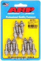 "Engine Bolts & Fasteners - Valve Cover Stud Kits - ARP - ARP Stainless Steel Valve Cover Stud Kit - For Stamped Steel Covers - 1/4""-20 - 1.170"" UHD - 12-Point (14 Pieces)"