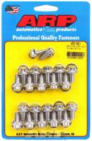 Oil Pan Parts & Accessories - Oil Pan Bolts & Studs - ARP - ARP BB Chevy Stainless Steel Oil Pan Bolt Kit - 12 Point