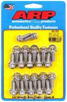 Engine Hardware and Fasteners - Oil Pan Bolt Kits - ARP - ARP BB Chevy Stainless Steel Oil Pan Bolt Kit - 12 Point
