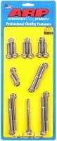 Engine Bolts & Fasteners - Timing Cover Bolts - ARP - ARP Pontiac Stainless Steel Timing Cover Bolt Kit - 12 Point