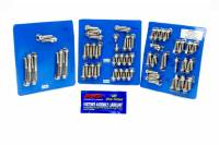 Engine Bolts & Fasteners - Engine Fastener Kits - ARP - ARP BB Ford Stainless Steel Complete Engine Fastener Kit - 6 Point