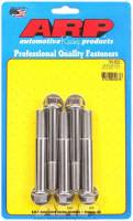 "Stainless Steel Bolts - 1/2""-20 Stainless Steel Bolts - ARP - ARP Stainless Steel Bolt Kit - 6 Point (5) 1/2-20 x 3.500"