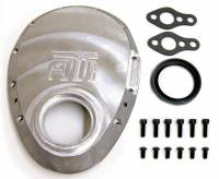 Valve Train Components - Timing Covers - ATI Products - ATI SB Chevy Cast Aluminum Timing Cover w/ Big Block 2.331 Snout Seal Diameter