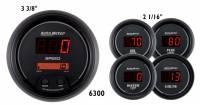 Gauges & Dash Panels - Gauge Kits - Digital - Auto Meter - Auto Meter Sport-Comp Digital 5 Gauge Set - Fuel / Oil / Speedometer / Volt / Water - 5 in.
