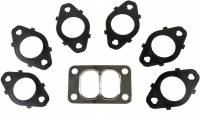 Exhaust Manifolds - Exhaust Manifold Gaskets - BD Diesel - BD Diesel Pulse Exhaust Gasket Set - Includes Stainless Steel Fasteners/Washer