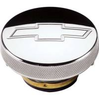 Radiator Accessories - Radiator Caps - Billet Specialties - Billet Specialties Polished Radiator Cap - Bowtie Emblem - 16 PSI