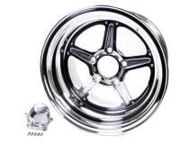 Billet Specialties Wheels - Billet Specialties Street Lite Wheels - Billet Specialties - Billet Specialties Street Lite Wheel - 15 in. x 10 in. - 5 in. x 4.5 in. - 6.5 in. Back Spacing