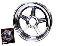 Billet Specialties Wheels - Billet Specialties Street Lite Wheels - Billet Specialties - Billet Specialties Street Lite Wheel - 15 in. x 4 in. - 5 in. x 4.5 in. - 1.625 in. Back Spacing