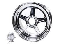 Billet Specialties Wheels - Billet Specialties Street Lite Wheels - Billet Specialties - Billet Specialties Street Lite Wheel - 15 in. x 8 in. - 5 in. x 4.5 in. - 4.5 in. Back Spacing