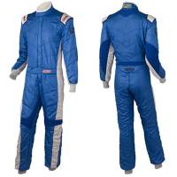 Racing Suits - FIA Rated Multi-Layer Suits - Simpson Race Products - Simpson Revo Suit - Blue