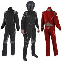 Simpson Race Products - Simpson Helix Suit - Red