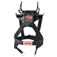 Head & Neck Restraints - Simpson Hybrid - Simpson Race Products - Simpson Hybrid Sport Head & Neck Restraint w/ SAS - SFI Approved