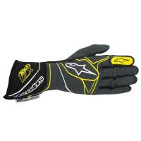 Alpinestars Gloves - Alpinestars Tech 1-ZX Glove - $199.95 - Alpinestars - Alpinestars Tech 1-ZX Glove - Anthracite/Black/Yellow Fluo
