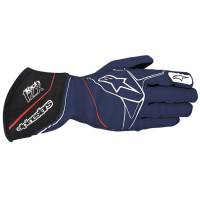 Alpinestars Gloves - Alpinestars Tech 1-ZX Glove - $199.95 - Alpinestars - Alpinestars Tech 1-ZX Glove - Navy/White/Red