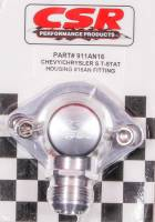 Water Filler Necks - Water Filler Necks - Chevy - CSR Performance Products - CSR Performance Chevy Swivel Thermostat Housing - Clear