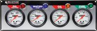 "Dash Gauge Panels - 4 Gauge Dash Panels - Allstar Performance - Allstar Performance 4 Gauge Panel (OP/WT/OT/FP) - 2-5/8"" Gauges"