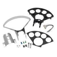 Gauge Parts & Accessories - Direct Fit Gauge Mounting Panels - Auto Meter - Auto Meter Dash Panel - 55-57 Chevy