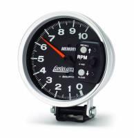 "Memory Tachometers - Pedestal Memory Tachs - Auto Meter - Auto Meter 5"" Auto Gage Monster Memory Tachometer"