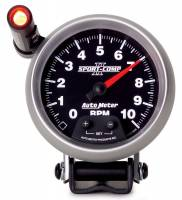 Tachometers - Shift Light Tachometers - Auto Meter - Auto Meter Sport-Comp II Tachometer - 3-3/4 in.