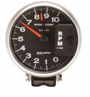 "Standard Tachometers - Pedestal Standard Tachs - Auto Meter - Auto Meter 10,000 RPM Sport-Comp 5"" Monster Tach"