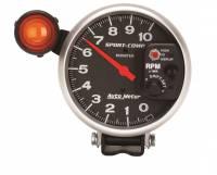 "Standard Tachometers - Pedestal Standard Tachs - Auto Meter - Auto Meter 10,000 RPM Sport-Comp Shift-Lite 5"" Monster Tachometer"