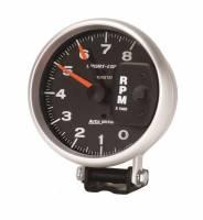 "Standard Tachometers - Pedestal Standard Tachs - Auto Meter - Auto Meter 8,000 RPM Sport-Comp 5"" Monster Tachometer"