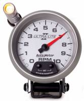 Tachometers - Shift Light Tachometers - Auto Meter - Auto Meter Ultra-Lite II Tachometer - 3-3/4 in.