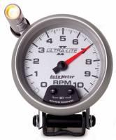 Tachometers - Shift Light Tachometers - Auto Meter - Auto Meter Ultra-Lite II Tachometer - 3-3/4 in.