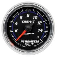 Analog Gauges - Exhaust Gas Temperature Gauges - Auto Meter - Auto Meter Cobalt Electric Pyrometer Gauge - 2-1/16 in.
