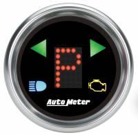 """Gauges & Dash Panels - Shift Lights - Auto Meter - Auto Meter 2-1/16"""" Gauge - PRNDL+ Black Face"""