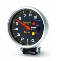 "Memory Tachometers - Pedestal Memory Tachs - Auto Meter - Auto Meter 9,000 RPM Pro-Comp 5"" Monster Memory Tachometer"