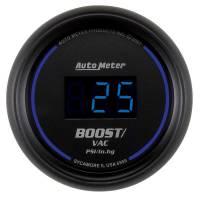 "Gauges - Digital Boost / Vacuum Gauges - Auto Meter - Auto Meter 2-1/16"" Cobalt Boost/Vacuum Gauge -30"" Hg/30 PSI"