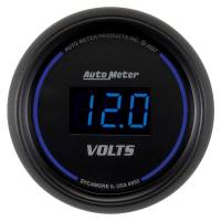 """Digital Gauges - Digital Voltmeter Gauges - Auto Meter - Auto Meter Cobalt Digital Voltmeter Gauge - 2-1/16"""""""