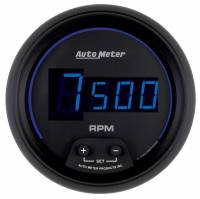 Digital Gauges - Digital Tachometers - Auto Meter - Auto Meter Cobalt Digital In-Dash Tachometer - 3-3/8""