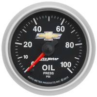 "Oil Pressure Gauges - Electric Oil Pressure Gauges - Auto Meter - Auto Meter 2-1/16"" Oil Pressure Gauge - GM COPO Camaro"