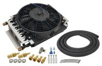 Drivetrain - Derale Performance - Derale 16 Pass Electra-Cool Remote Transmission Cooler Kit, -8AN Inlets