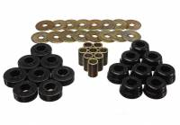 Street Performance USA - Energy Suspension - Energy Suspension Body Mount Set - Black