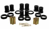 Trailing Arm, Mounts & Bushings - Trailing Arm Bushings - Energy Suspension - Energy Suspension Rear Control Arm Bushing Set - Black - Fits 1979-93 Ford Mustang, Mercury Capri