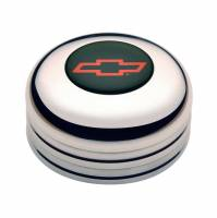 GT Performance - GT Performance GT3 Polished Horn Button-Chevy Bowtie