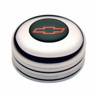 Street Performance / Tuner Steering Wheels - GT Performance Installation Kits & Accessories - GT Performance - GT Performance GT3 Polished Horn Button-Chevy Bowtie