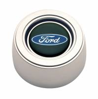 GT Performance - GT Performance GT3 Hi-Rise Ford Oval Color Horn Button Polished