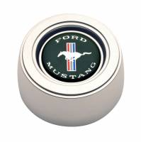 GT Performance - GT Performance GT3 Hi-Rise Mustang Color Horn Button Polished