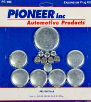 Engine Components - Pioneer Automotive Products - Pioneer 302 Ford Freeze Plug Kit - Steel