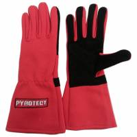 Pyrotect - Pyrotect One Layer Driving Gloves - Red