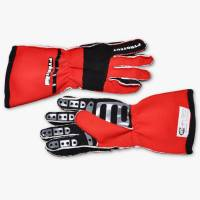 Kids Race Gear - Kids Racing Gloves - Pyrotect - Pyrotect Pro Series Reverse Stitch Gloves - Red/Black