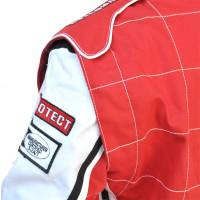 Pyrotect Ultra-1 Auto Racing Suit - 360 Degree Arm Gusset