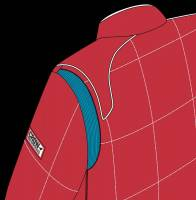 Crow Enterprizes - Crow Quilted Two Layer Proban® Driving Suit - Red - Image 4
