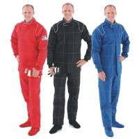 Crow Enterprizes - Crow Quilted Two Layer Proban® Driving Suit - 2 Piece Design - Red - Image 2