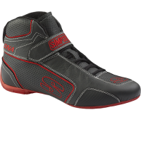 Simpson Racing Shoes - Simpson DNA Shoe - $199.95 - Simpson Race Products - Simpson DNA Shoe - Black/Red